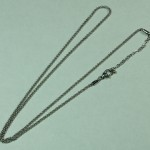 24 inch silver rolo chain