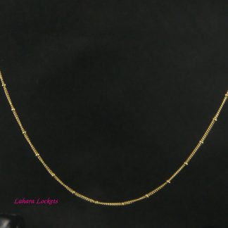 Gold Ball Station Chain