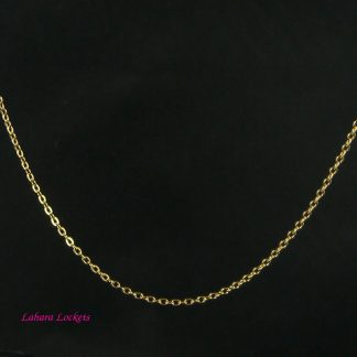 Gold Oval-Link Chain