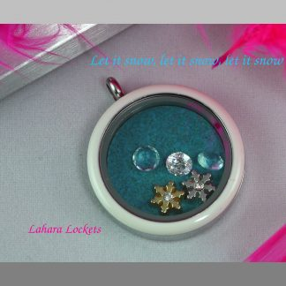 Winter Memory Locket, Let it Snow