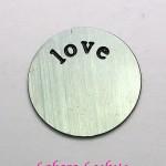 Love Locket Plate Medium