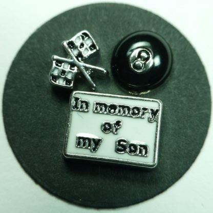 In Memory of My Son Floating Charms for Memory Lockets