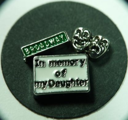 In Memory of My Daughter Floating Charms for Memory Lockets