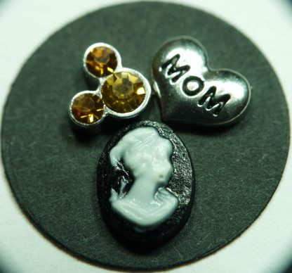 Mom Floating Charm for Memory Lockets