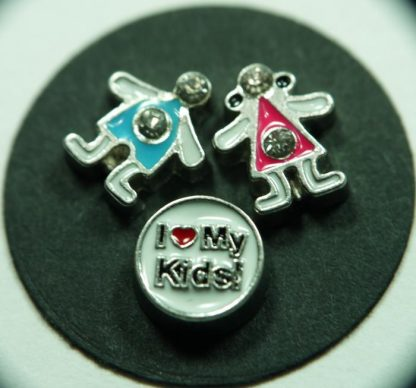 Kids Floating Charms for Memory Lockets