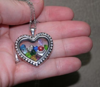 Grandma Heart Memory Locket