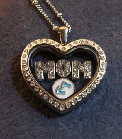 Mom and Baby Memory Locket