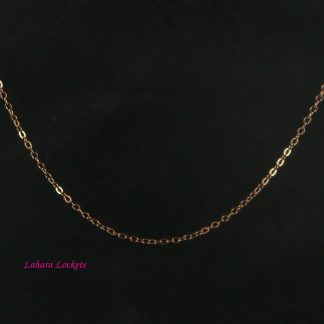 Chocolate Oval-Link Chain
